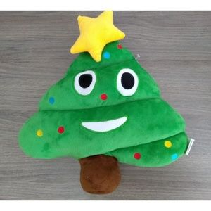 Christmas Poop Emoji Pillow - NWT
